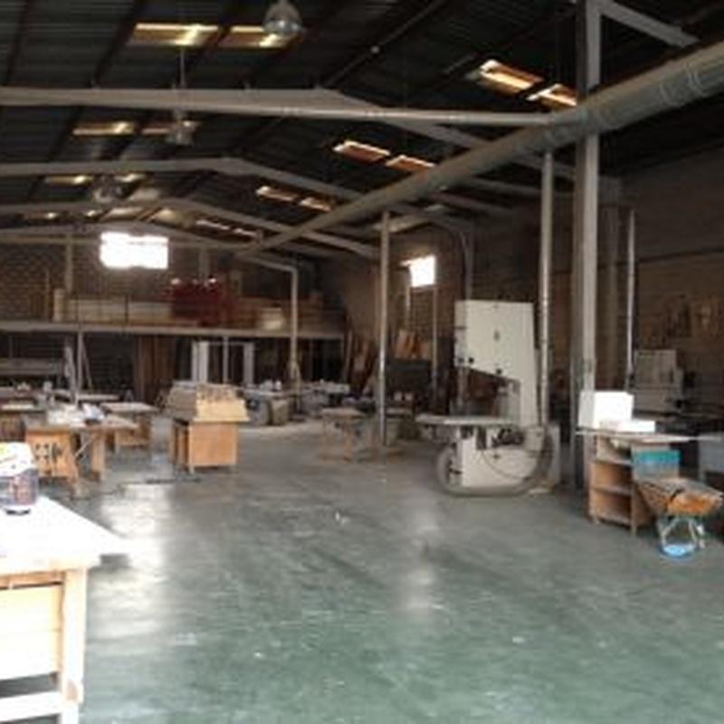 Nuestras instalaciones: Trabajos de carpintería de Talleres de carpintería Figueroa