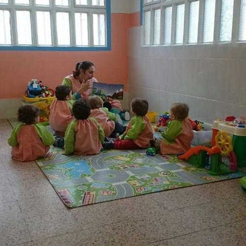 Interior de una clase