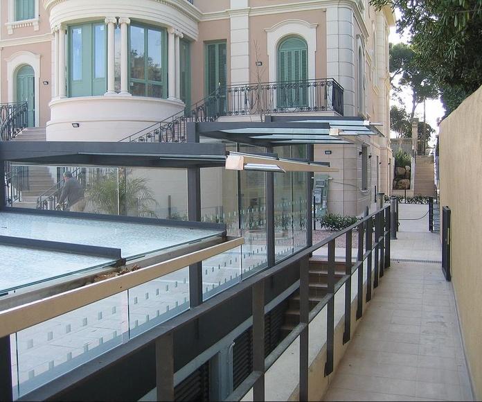 Inoxidable / Barandillas: Productos de Metalistería Barceló