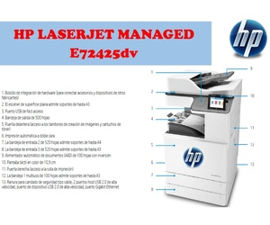 HP LASERJET MANAGED E72425dv