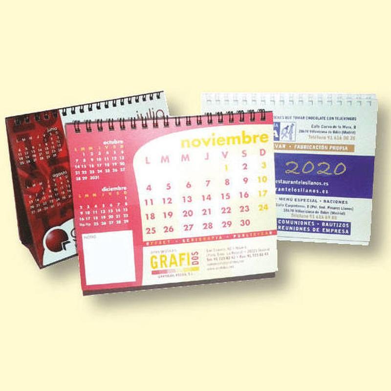 Calendarios personalizados: Qué hacemos de GRAFIDOS