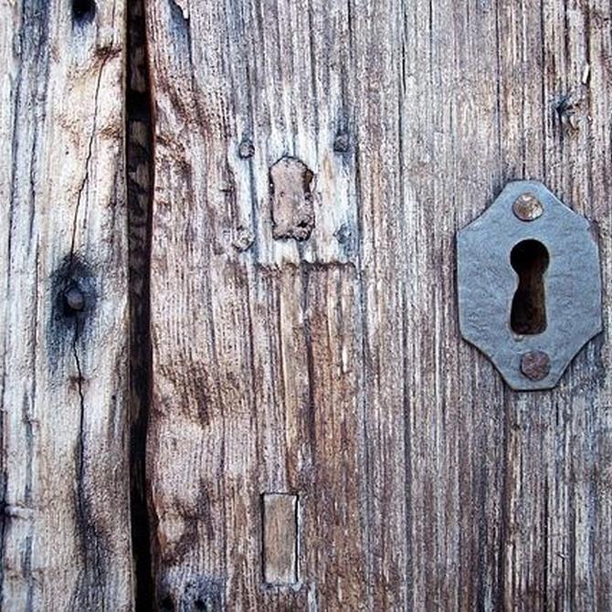 ¿Cuándo se inventó la cerradura?