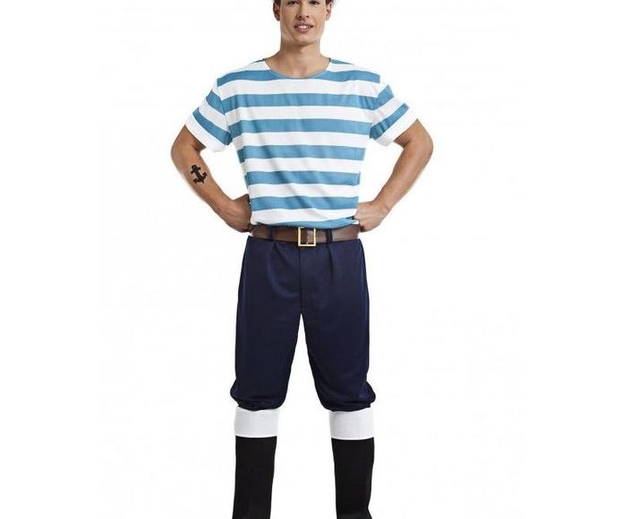 Disfraz marinero rayas