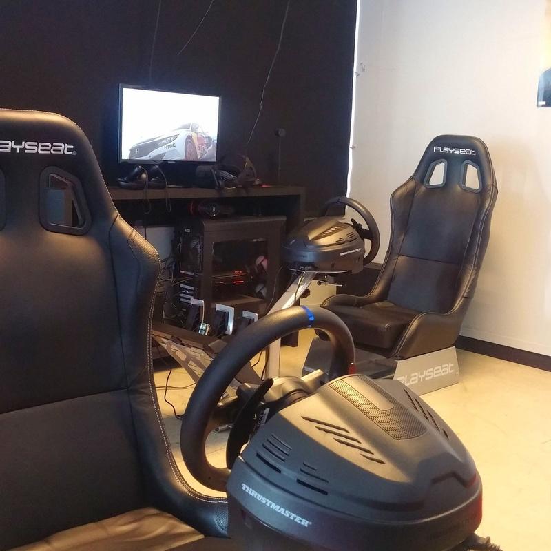 Virtual Racing: Juegos de Coruña Virtual Games