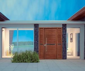 Puertas a medida para exterior de vivienda