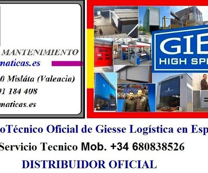 Servicio Técnico Oficial de Giesse Logística en España