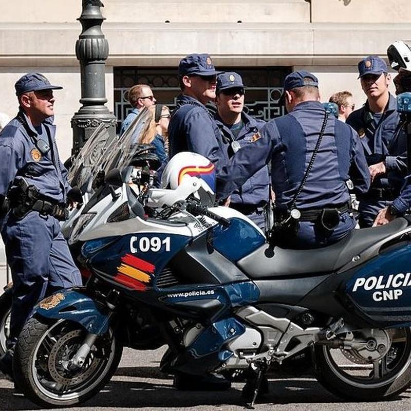 Policía Nacional: Cursos de Centro de Enseñanza J. J. Formación