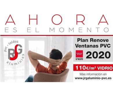 Abierto plazo Plan Renove de Ventanas PVC 2020