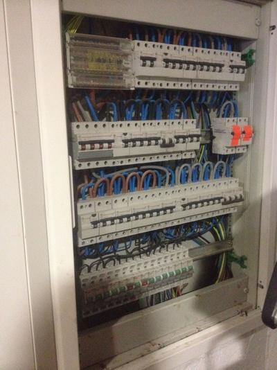 Cableado cuadro de mando y protección: Electricidad Buades Fercres
