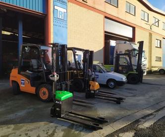 Transporte de mercancías ADR: Servicios de Transportes Rodríguez