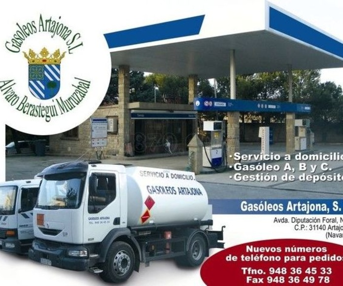 Empresa de gasoleos Pamplona / Gasóleos Artajona