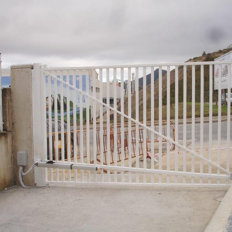 Fabricacion de puertas metalicas Navarra