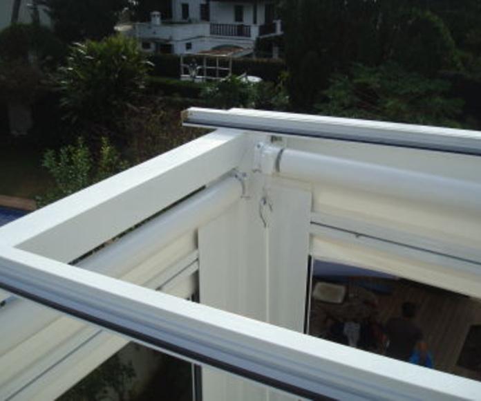 Techos con vidrio: Catálogo de Aluminios Aludecor Marbella