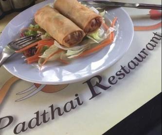 Fideos de huevo: Amplia carta de Padthai Restaurant