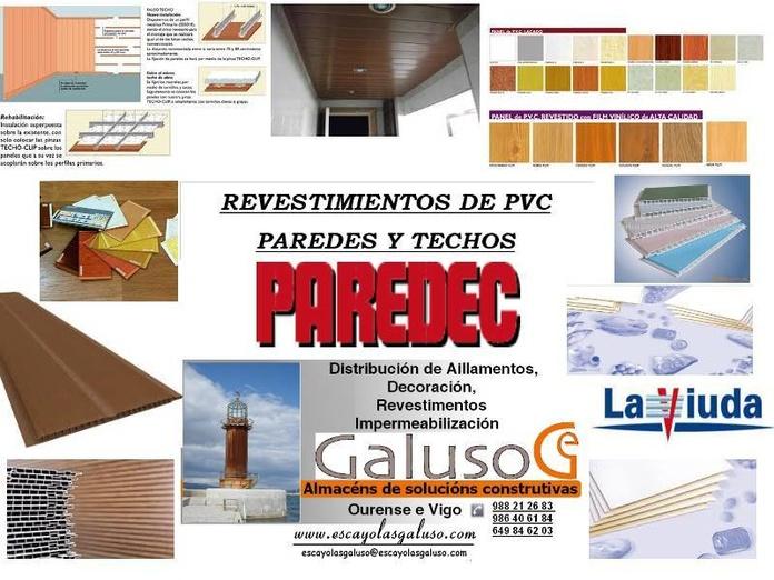 REVESTIMIENTOS PVC  ALTA  CALIDAD
