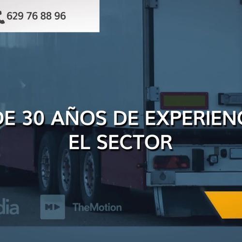 Empresas de transporte en Font Rubí: Transports JA Almirall