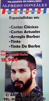 BARBEROS desde 1931...