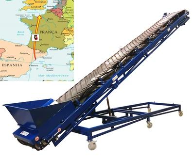 Exportacion. Nuevo Lote de Maquinaria con destino Normandia ( Francia )