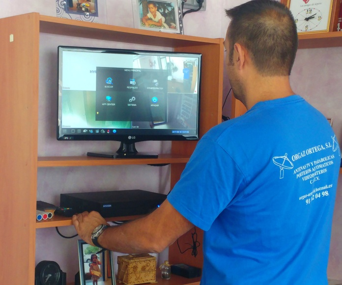 Seguridad: Servicios de Antenas Orgaz Ortega