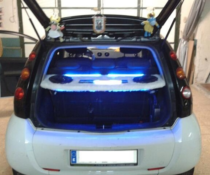 Instalación audio-iluminación