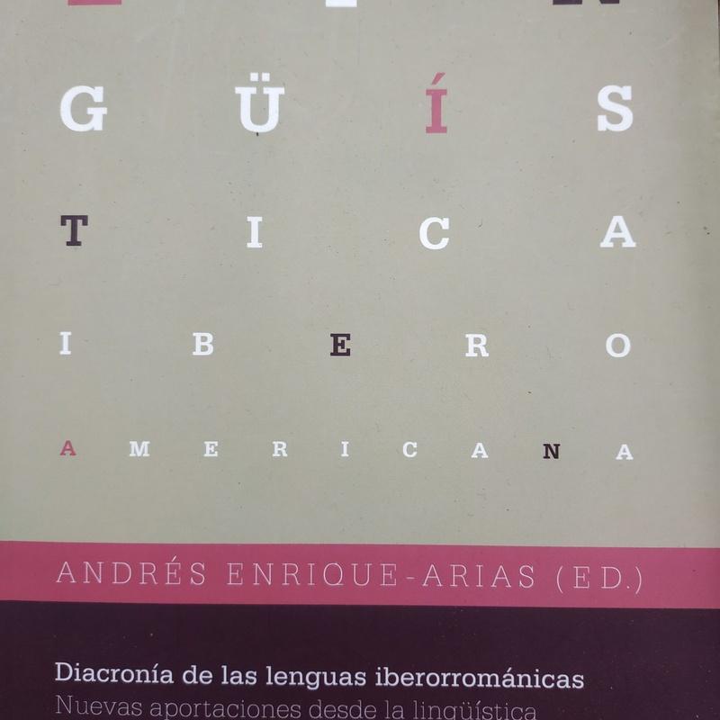 DIACRONIA DE LAS LENGUAS IBERORROMANICAS: SECCIONES de Librería Nueva Plaza Universitaria