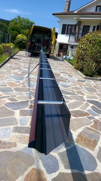 Fabricación de canalones en Asturias