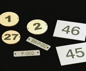 Placas numeradas en L´ Hospitalet de Llobregat
