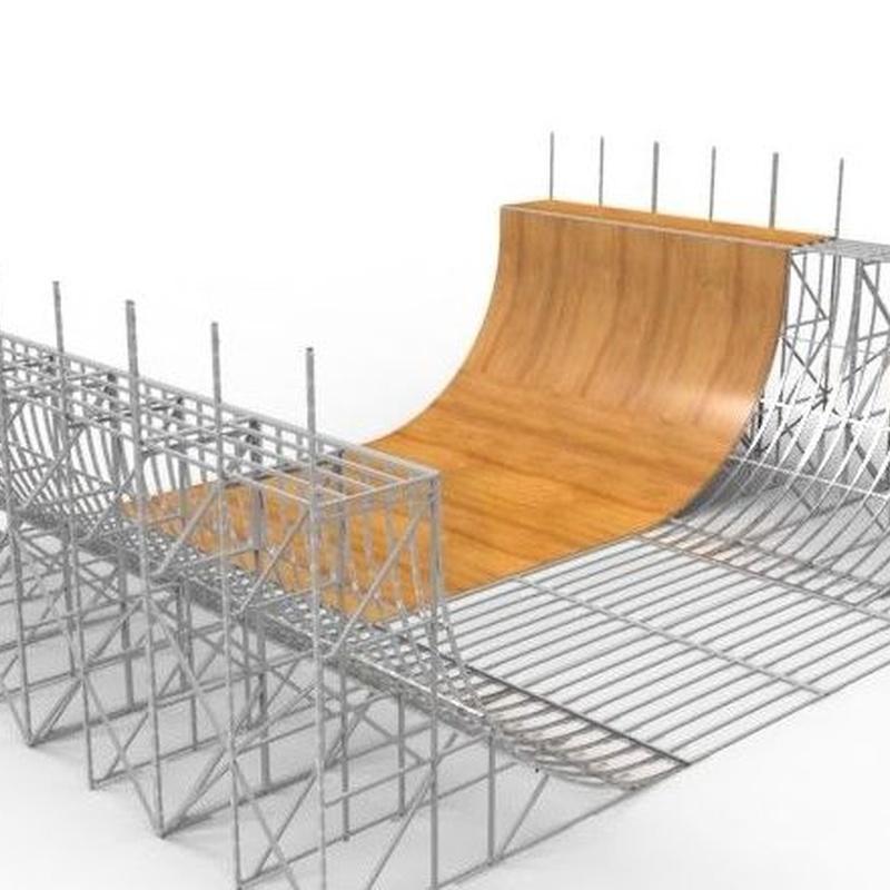 DESCRIPCIONES TÉCNICAS MÓDULOS : Productos y Homologaciones de Transformers Skateparks