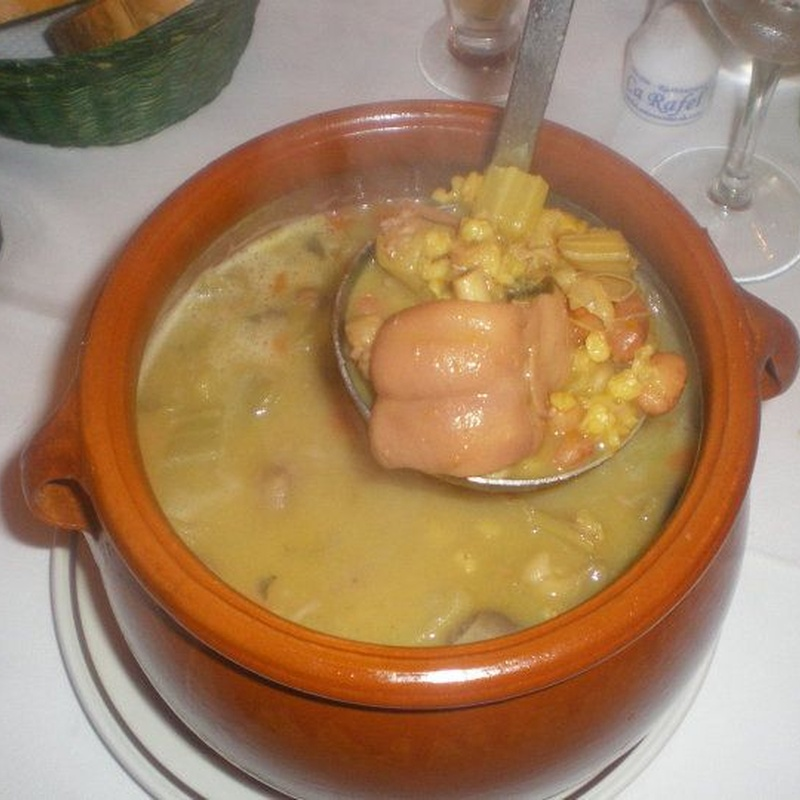 Especialidades: Nuestros platos de Mesón Ca Rafel