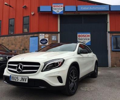 Adaptación de vehículos Asturias. Nueva instalación entregada Mercedes GLA Adaptado Cabal Automoción