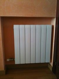 Instalación radiadores calefacción