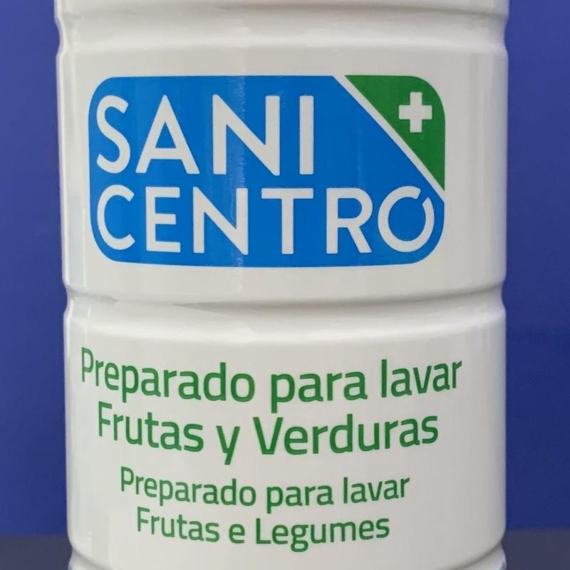 Sanit centro frutas y verduras 750ml: SERVICIOS  Y PRODUCTOS de Neteges Louzado, S.L.