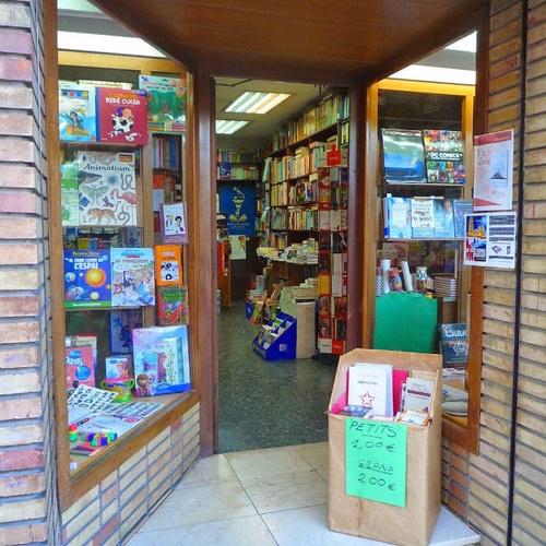 Entrada a la librería