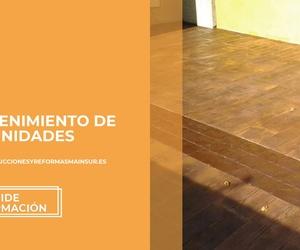 Empresa de reformas y limpiezas en El Campo de Gibraltar | Mainsur