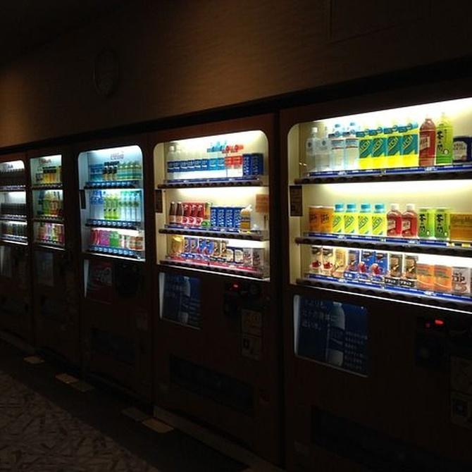 Las máquinas de vending en escuelas y hospitales