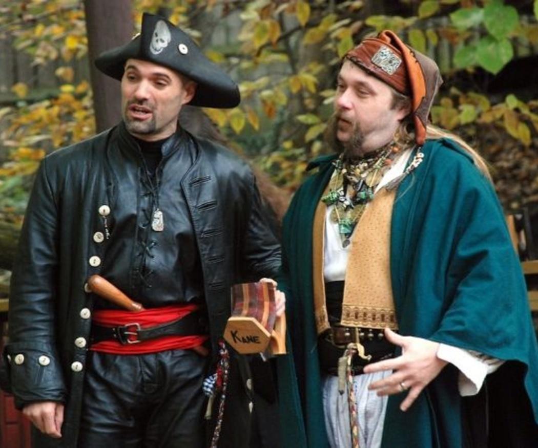Los disfraces de pirata