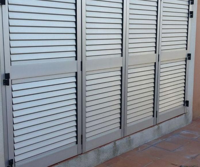 MALLORQUINAS: Servicios de Exposición, Carpintería de aluminio- toldos-cerrajeria - reformas del hogar.