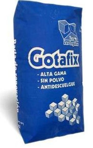 Pasta gotafix: Catálogo de Materiales de Construcción J. B.
