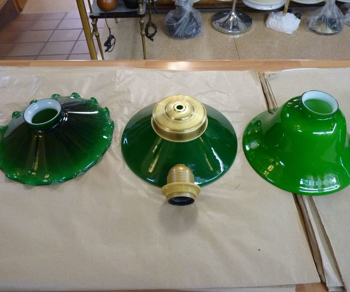 Tulipas verde natural 20 cm