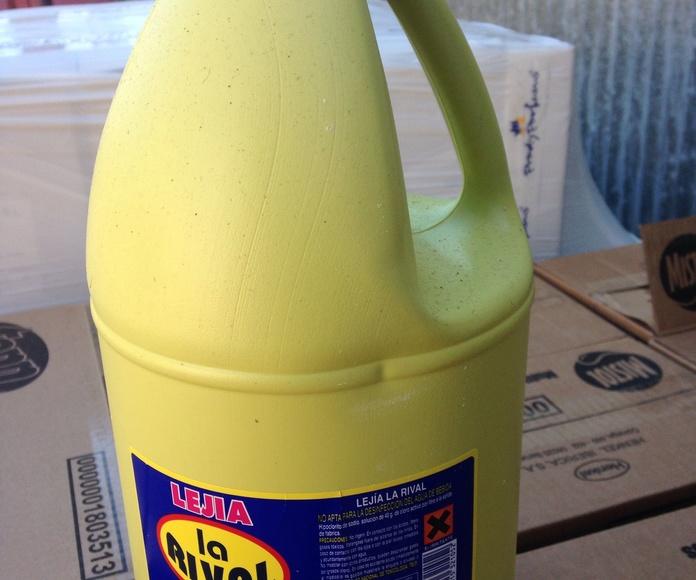 Lejía de 5 litros: Productos y servicios de Comercial Cash Logon