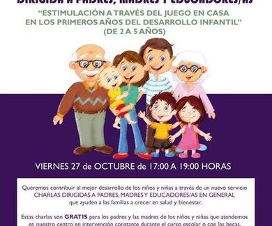 NUEVO SERVICIO: CHARLAS PARA PADRES, MADRES Y EDUCADORAS/ES