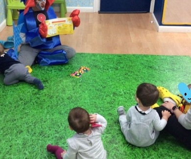 Una maravillosa visita en nuestra Escuela Infantil