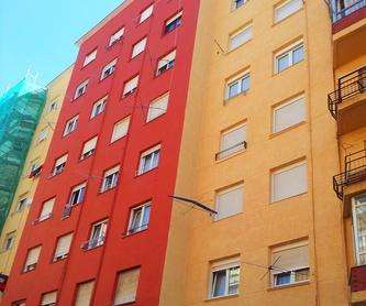 Rehabilitación integral de edificio Santander-Torrelavega-Cantabria: Trabajos. de Fachadas Cantabria