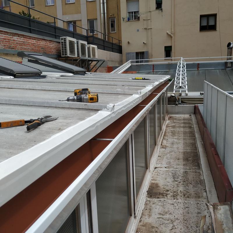 Impermeabilización de tejados: Servicios de Dim Canal