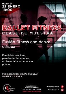 Ballet Fitness. Clase abierta