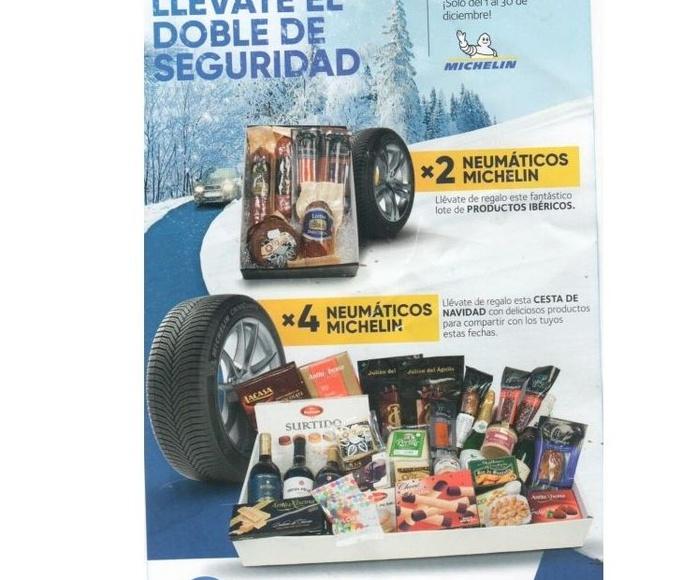 Tu seguridad con neumáticos Michelin y llévate un regalo seguro