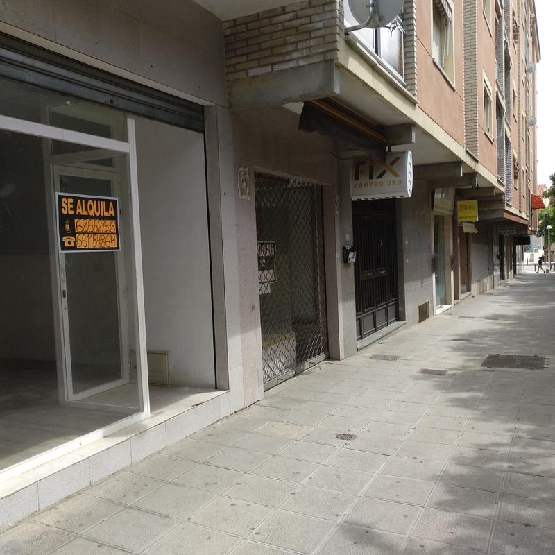 Alquiler local comercial C/ Burdeos/Avda. Barber