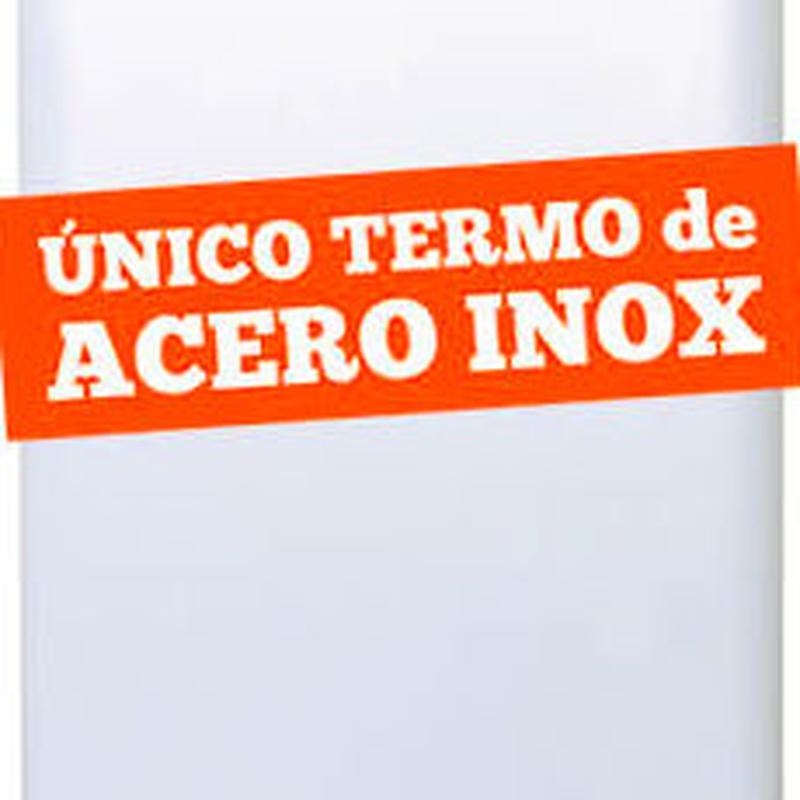 Termo Wesen inox doble deposito
