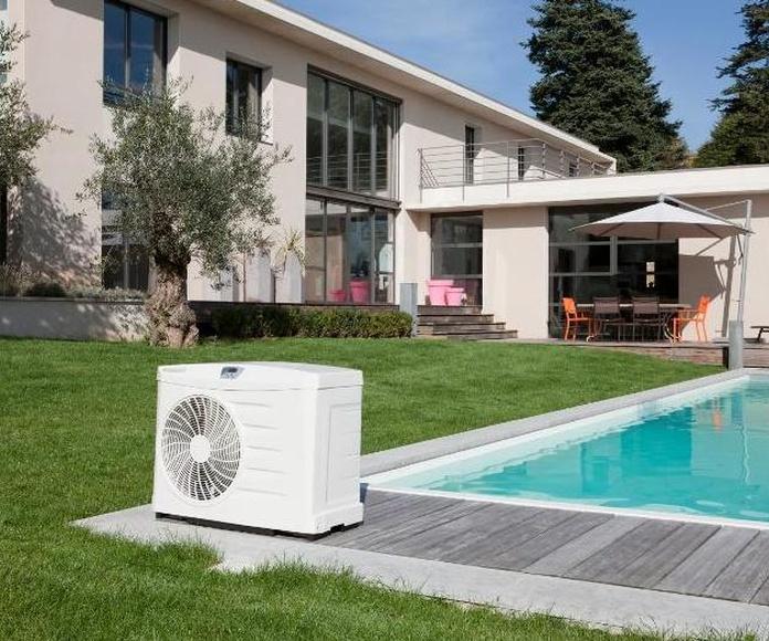 Climatización piscina bomba de calor