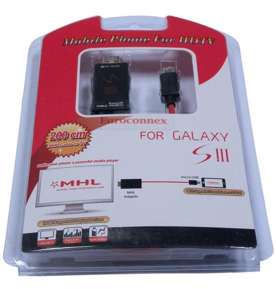 0874 - MHL para Samsung S3 y S4.